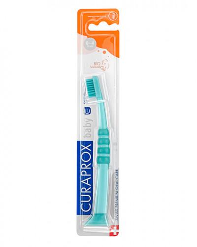 Escova de dentes para bebé verde-verde